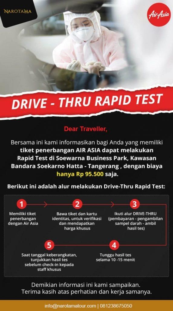 Rapid Test di Bandara Soekarno Hatta
